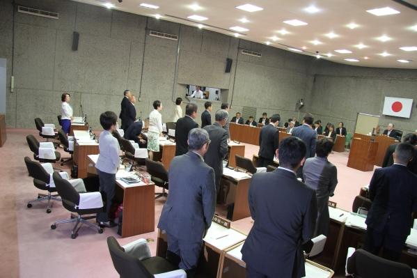 中岡議員への辞職勧告を決議 伊賀市議会