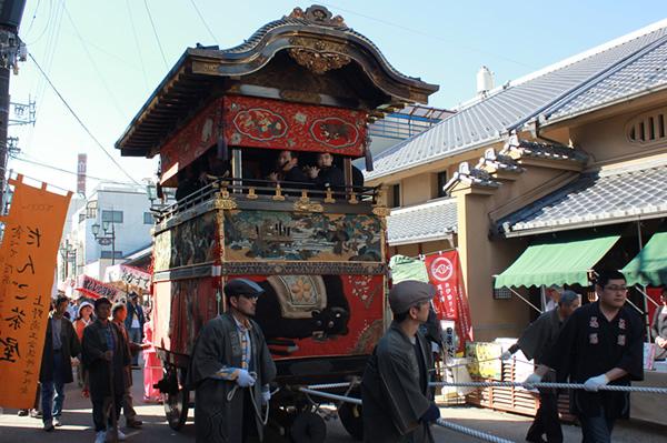 上野天神祭のダンジリ行事 ネットで運営資金の一部募る 伊賀